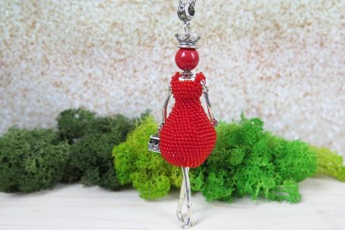 Raudona dama Pom Pom karalienė